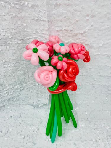 FLOWERS ARE A GIRLS BEST FRIEND - STANDARD