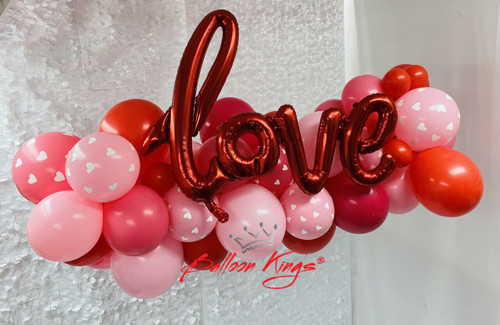 D.I.Y. LOVE GARLAND - DO IT YOURSELF INSTALLATION - STRING INCLUDED