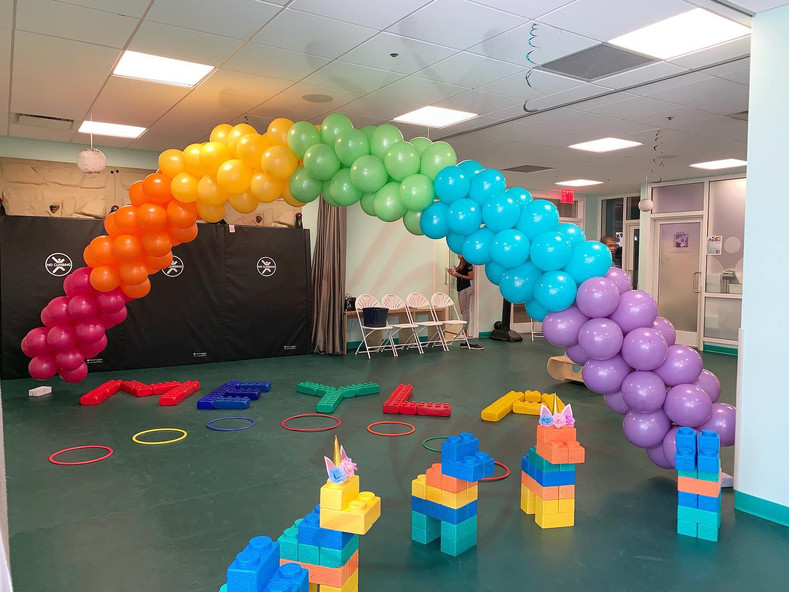 Assembling and Delivering Balloon Happiness