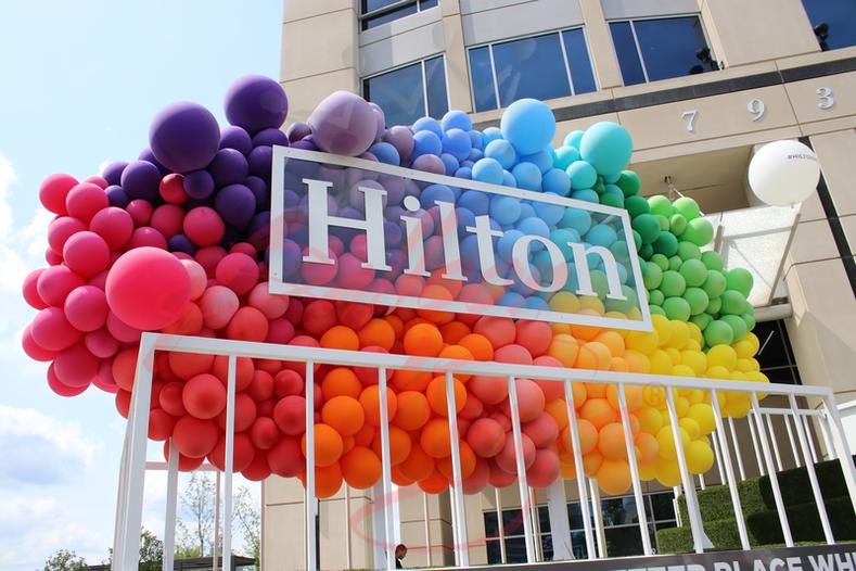 Hilton Float - Pride Month