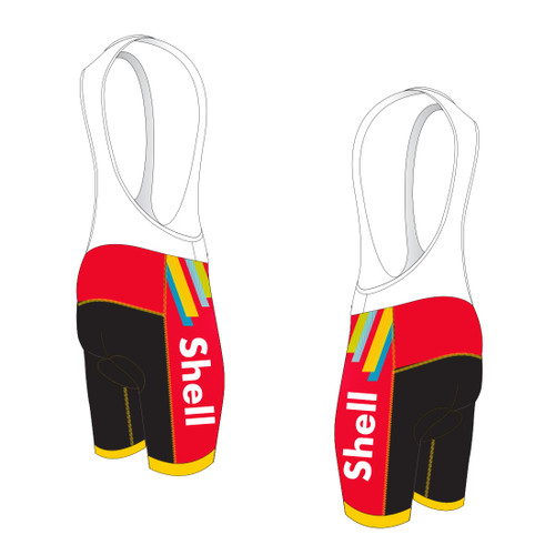 SHELL CYCLING BIB SHORTS