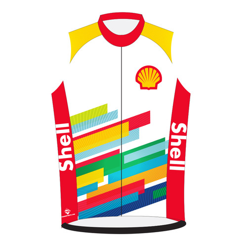 SHELL CYCLING JERSEY -- SLEEVELESS