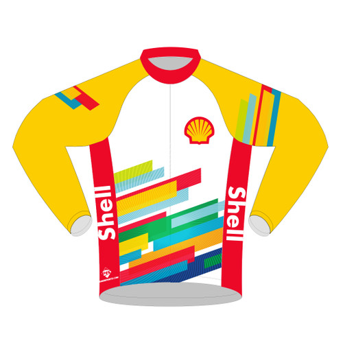SHELL CYCLING JERSEY -- LONG SLEEVE