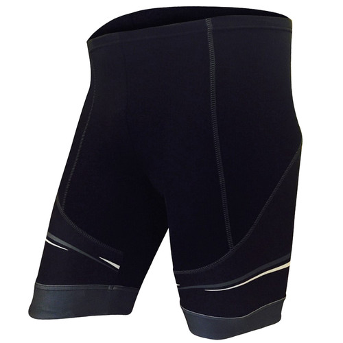 CYNERGY GRAY -- MEN'S CYCLING SHORTS