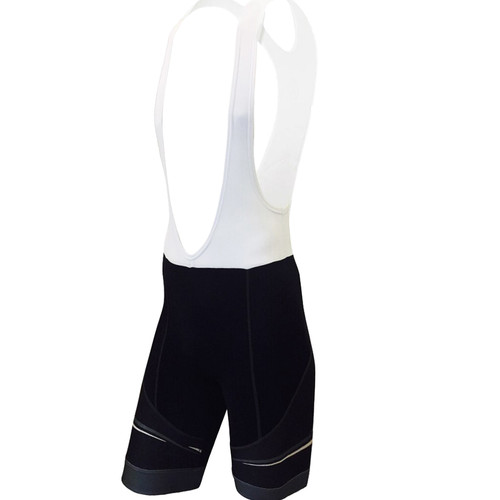 CYNERGY GRAY -- MEN'S CYCLING BIB SHORTS