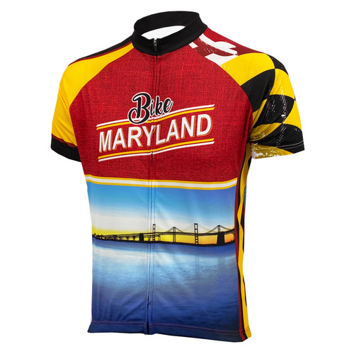 Men's Short Sleeve Cycling Bike Jersey