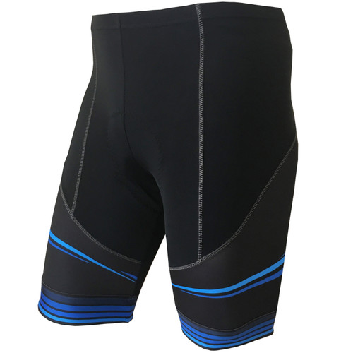 CYNERGY BLUE -- MEN'S CYCLING SHORTS
