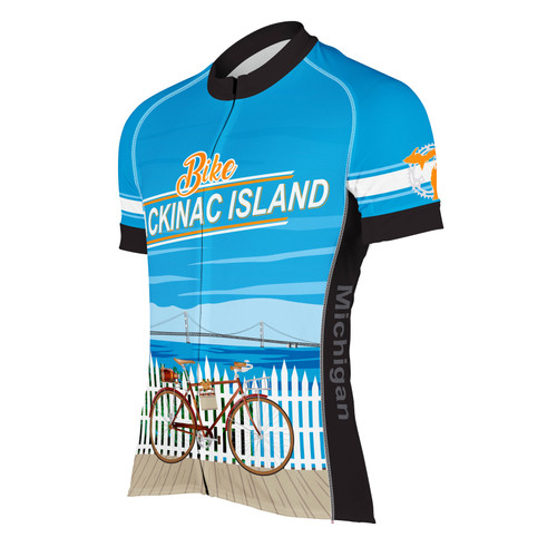 MACKINAC ISLAND MEN'S CYCLING JERSEY