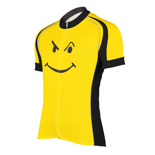 BIKING HAPPENS MEN'S CYCLING JERSEY