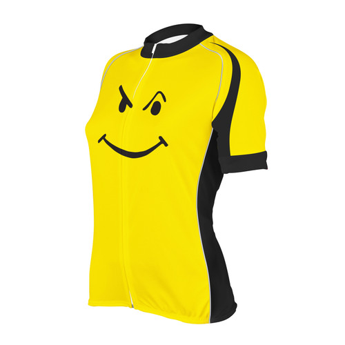 BIKING HAPPENS WOMEN'S BIKE JERSEY