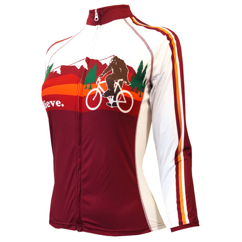 BIGFOOT WOMEN'S LONG SLEEVE CYCLING JERSEY