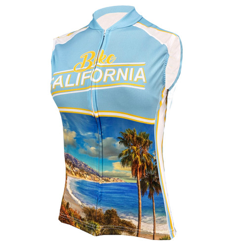 Women's Sleeveless Bike Jersey