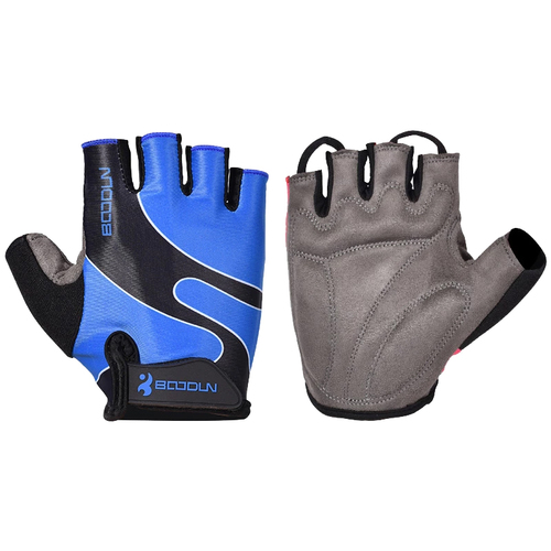 RACER'S EDGE BLUE CYCLING GLOVES