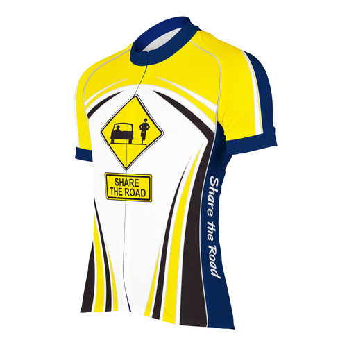 SHARE THE ROAD II MEN'S CYCLING JERSEY