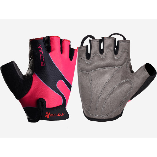 RACER'S EDGE PINK CYCLING GLOVES