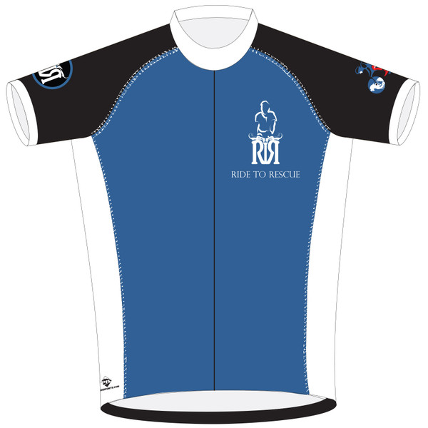Short Sleeve Sport Club Cut Cycling Jersey