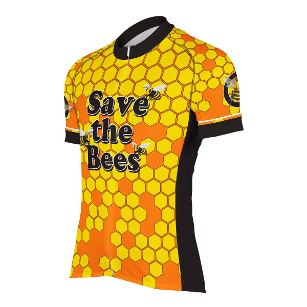 SAVE THE BEES MEN'S CYCLING JERSEY