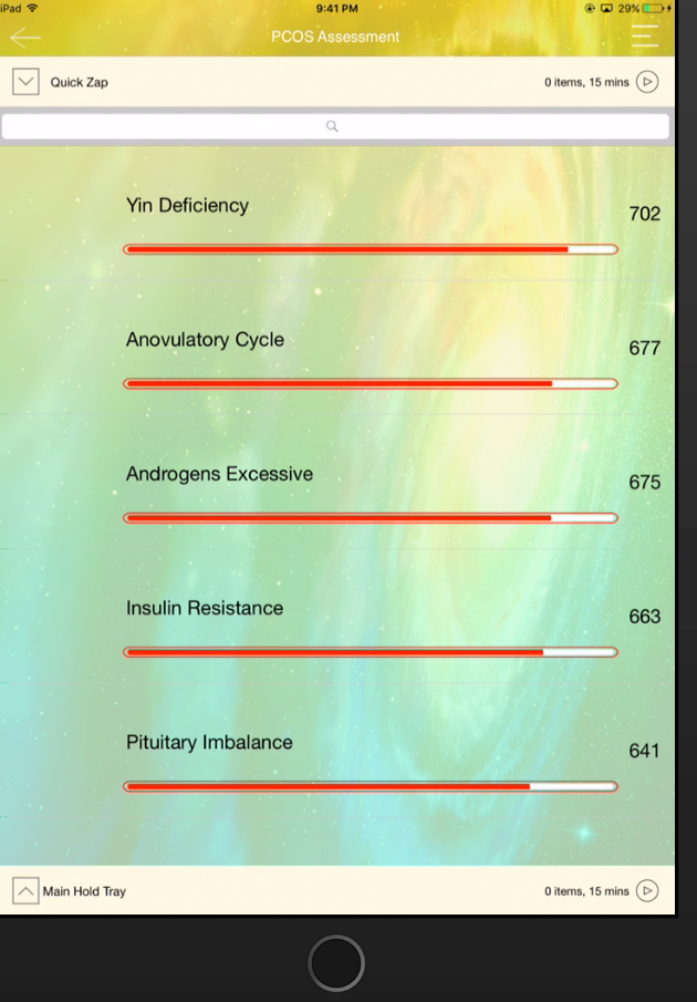 Custom Libraries for Genius Insight Natural Health Assessments - 10 panel package