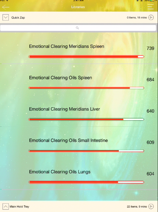 Emotional Clearing - All Meridians with Essential Oils