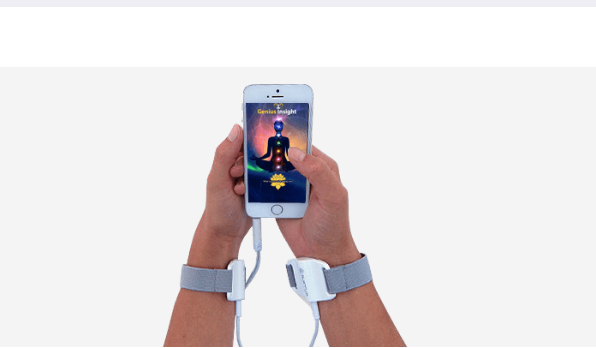 Our wristbands help to send the frequencies from the device to the client! These are comfortable, one size fits all. The attachment at the wrist contains a beautiful Flower of Life golden tracings for accurate transmission of the frequencies.