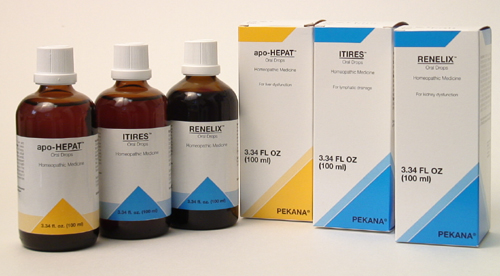 Pekana remedies are powerful drainers for kidney, liver and lymph.