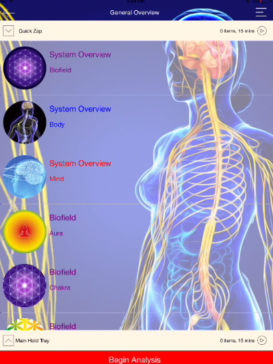 Your Genius scans many different aspects in the realms of body, mind and spirit.