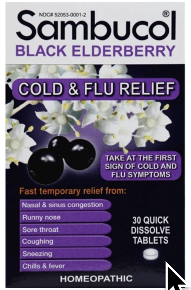 Elderberry is a powerful natural ally during colds/flu season