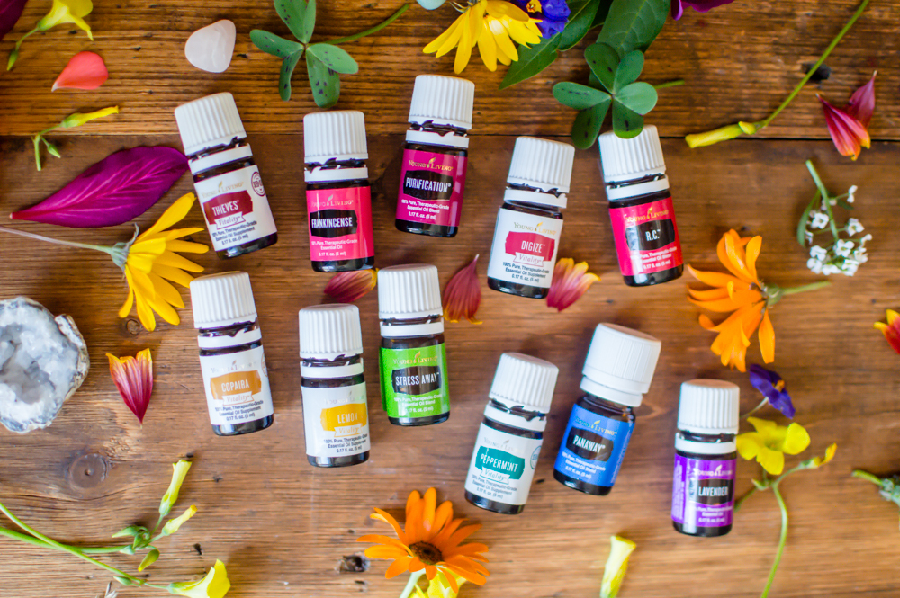 This system uses Young Living Essential Oils