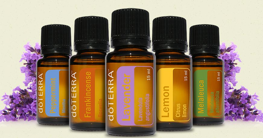 DoTerra Testing Panel for the Genius Insight includes blends and single items