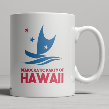 Democratic Party Of Hawaii Official Logo (11oz. Coffee Mug)