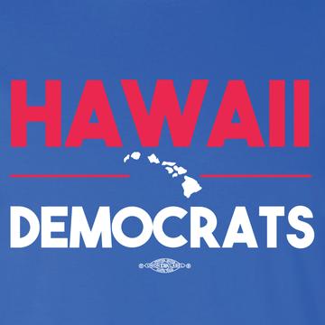 Hawaii Democrats Islands (Royal Blue Tee)