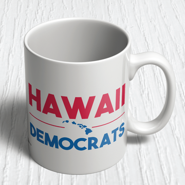 Hawaii Democrats Islands (11oz. Coffee Mug)