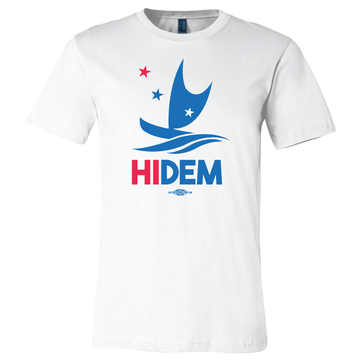 HIDEMS Boat Logo (White Tee)