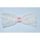 Lace & Ribbon Bow 10 Pack