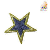 """Bordered Star 1 1/4"""" 10 Pack *Colors*"""