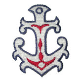 Anchor Fancy Creole - Iron On Patch Applique