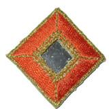 Diamond Mirrored Orange