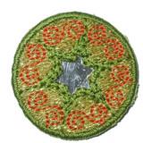 Round Mirrored GreenB