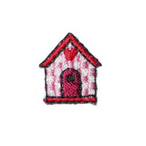 Birdhouse Pack of 10 Red