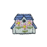 Birdhouse Pack of 10 Blue