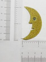 Moon Face with Mirror Metallic Gold