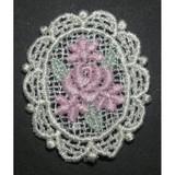 Venise Lace Applique - Floral Medallion