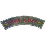 MISS ARMY decal