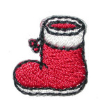 Christmas Stocking Iron On Patch Applique