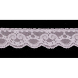 "Flat Lace 1 5/16"" Lilac 75 Yard Roll"