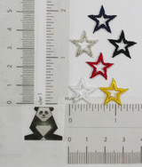 """Open Star 5/8"""" (15.8mm) *Colors*"""