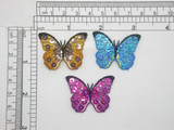 """Sequined Butterfly Patch 1 1/2"""" x 1 1/8"""" Iron On Applique"""