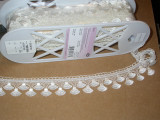 """Venise Lace 1 1/2"""" (38.1mm) Off White 5 Yards"""