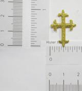 "Latin Cross 1"" x 11/16"" (25mm x 17mm)"
