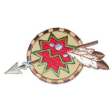 Native American Symbol with Spear